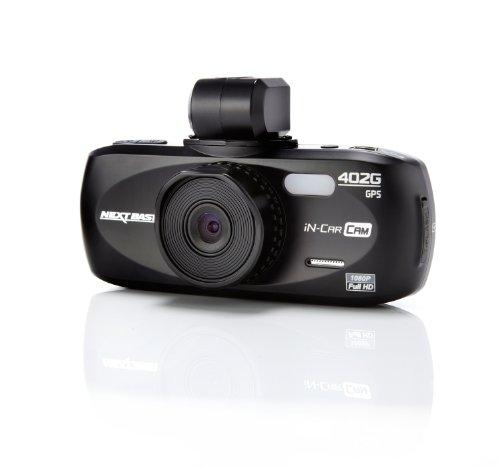 Nextbase NBDVR402G In Car Cam 402G Professional Autounfallkamera Full HD, HDMI, AV, USB, micro SD-Kartenslot, 2,7 Zoll LCD Screen, GPS