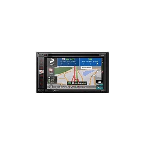 Pioneer AVIC-F980DAB Navigationssystem  6.2 Zoll Display,starrer Monitor, 16:9,Kontinent
