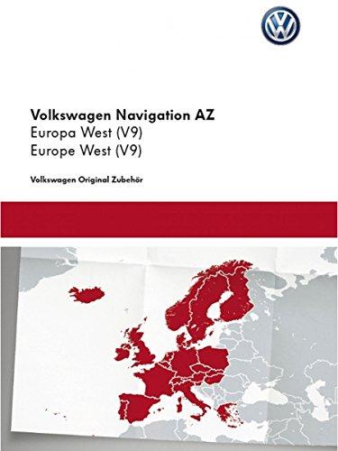 Original VW Volkswagen Navi Navigationsdaten V9 Europa West – Update für RNS 315