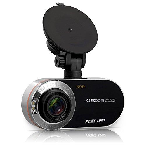 "Ausdom Autokamera Dashcam AD260 2.7 "" Black Box mit G-Sensor"