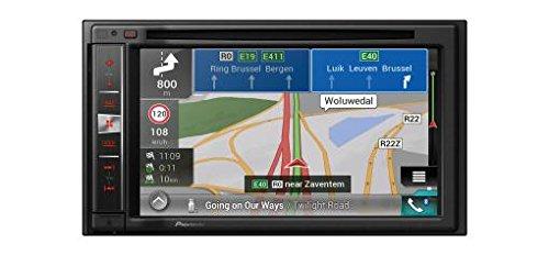 Pioneer AVIC-F980BT Navigationssystem  6.2 Zoll Display,starrer Monitor, 16:9,Kontinent