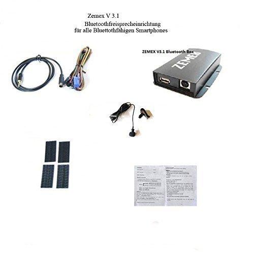 ZEMEX V3.1 Bluetooth Freisprecheinrichtung für BMW 3 er E46 16:9 Navigation flache Pins