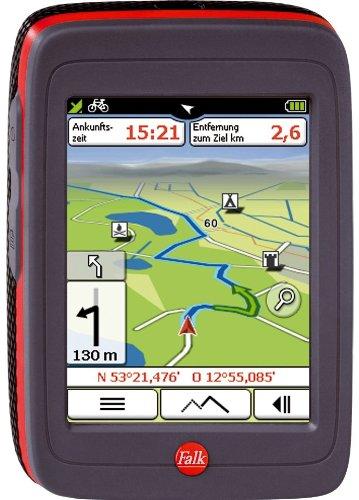 Falk Ibex 30 Cross Deutschland Navigationssystem 8,9 cm 3,5 Zoll Touchscreen, Kartenslot, TMC, USB