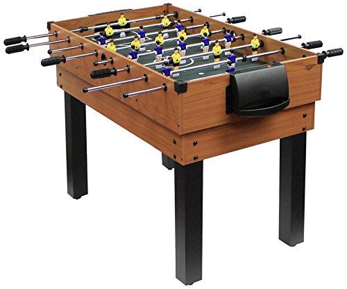 Carromco Multifunktionstischfussball Multigame Choice-XT 10-in-1 inklusive Billardkugeln, 2 Queues, 2 Kickerbälle, 06010