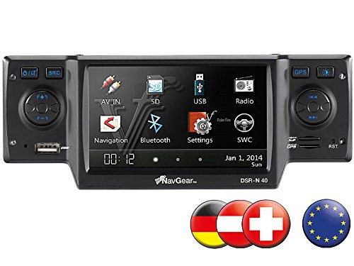 NavGear StreetMate 1-DIN-Autoradio mit 4,3″-Navi DSR-N 40 Europa