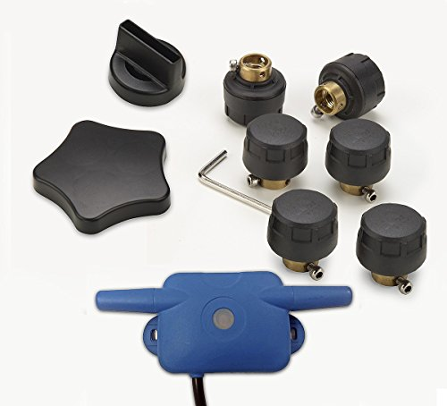 Reifendruck-Kontrollsystem Snooper Tyre Pilot für Ventura S6800, SC5800DVR und C8500 Set für 6 Reifen bis 8 bar