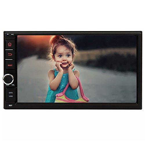 7″ 2 DIN Android 5.1 Autoradio NAVISKAUTO HD Touchscreen 1024×600 Quad Core Navigation GPS DAB Radio AM FM(Speicherkarte, DAB Box und Rücjkamera nicht enthalten RQ0264E