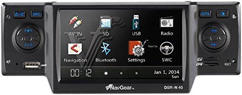 NavGear StreetMate 1-DIN-Autoradio mit 4,3″-Navi DSR-N 40 Deutschland