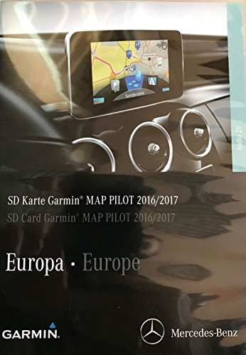 Garmin Map Pilot SD card 2015/2016 C Class and  V Class Compatible