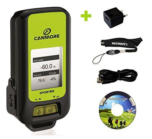 G-PORTER GP-102+ GPS- Multifunktionsgerät grün – Set mit 110-240V Netzteil