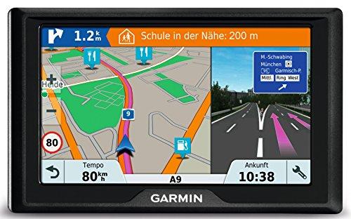 5 Zoll 12,7 cm Touchdisplay, lebenslang Kartenupdates & Verkehrsinfos – Garmin Drive 51 LMT-S EU Navigationsgerät