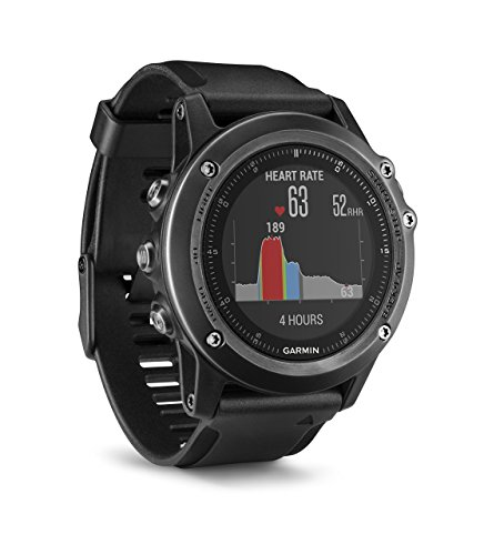 Garmin fēnix 3 HR Saphir GPS-Multisportuhr – Herzfrequenzmessung am Handgelenk, zahlreiche Sport- & Navigationsfunktionen