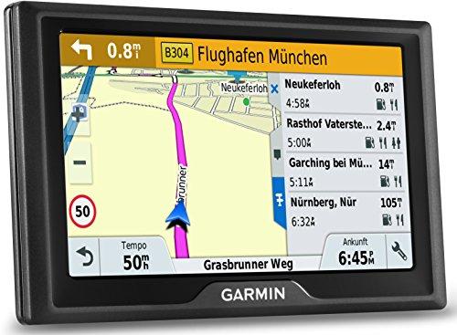 Garmin Drive 50 LMT CE Navigationsgerät – lebenslange Kartenupdates, Premium Verkehrsfunklizenz, 5 Zoll 12,7cm Touchscreen