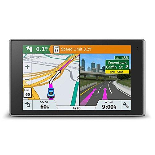 Garmin DriveLuxe 51 LMT-D EU Navigationsgerät – lebenslang Kartenupdates & Verkehrsinfos, Smart Notifications, edles Design, 5 Zoll 12,7cm Touchdisplay