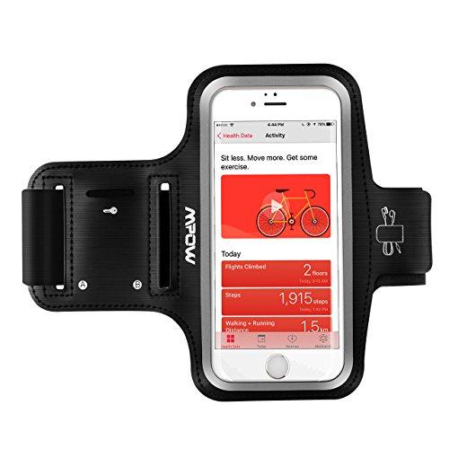 Sportarmband iPhone,Mpow Handy Armband ,Sportarmband Hülle mit Kopfhörer,Schlüsselhalter,Verlängerungsband,Sportarmband iPhone7/6/6s,Samsung Galaxy S7 / S6,bis zu 5.1 Zoll,Sweatproof