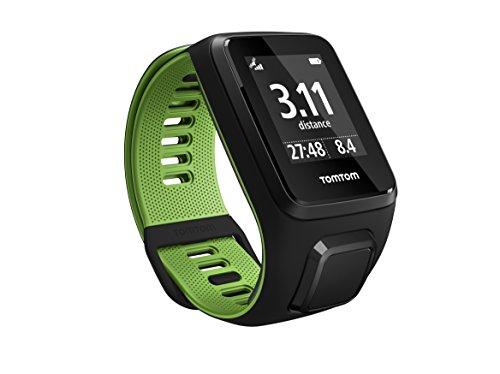 TomTom Runner 3 Cardio GPS-Sportuhr Eingebauter Herzfrequenzmesser, Routenfunktion, Multisport-Modus, 24/7 Aktivitäts-Tracking