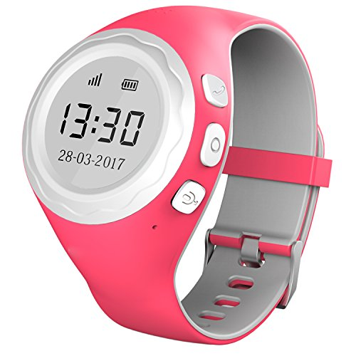 kinder gps telefon uhr sos smartwatch mit ortung tracker. Black Bedroom Furniture Sets. Home Design Ideas