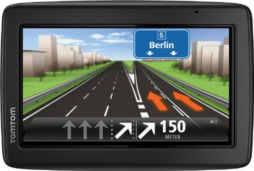 TomTom Start 25 M Europe Traffic, Navigationsgerät Free Lifetime Maps, 13cm 5 Zoll Display, TMC, Fahrspurassistent, Parkassistent, IQ Routes, Europa 45 schwarz