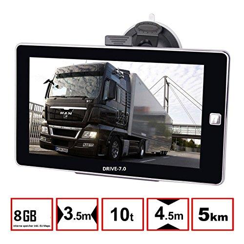 7 zoll navigationsger t drive 7 0 f r lkw pkw bus. Black Bedroom Furniture Sets. Home Design Ideas