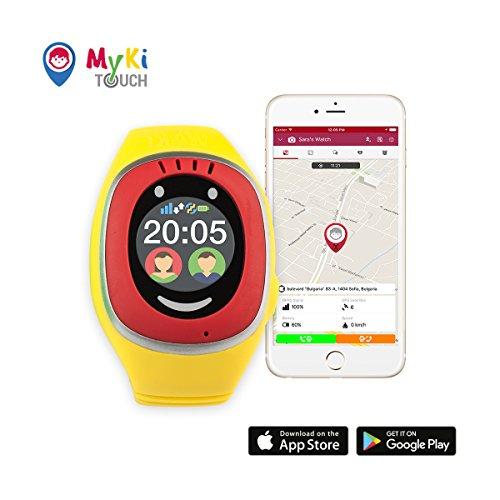 MyKi GPS Uhr Kinder, Smartwatch mit GPS Tracker, Handy ...