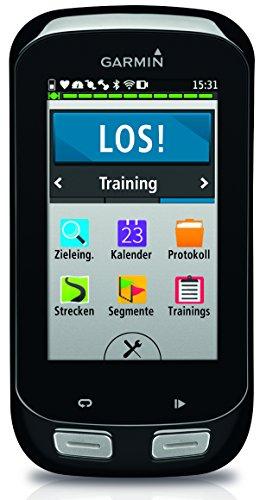 Garmin Edge 1000 GPS-Radcomputer – Europa-Fahrradkarte, RoundTrip Routing, 3 Zoll 7,6 cm Touchscreen