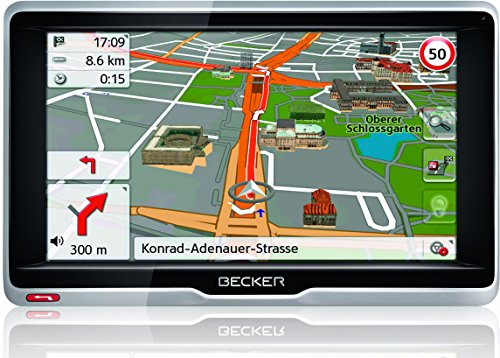 Becker active.6 LMU plus Navigationsgerät 15,8 cm 6,2 Zoll Bildschirm, 47 Länder, lebenslange Kartenupdates, TMC, MagClick Aktivhalter, mit Bluetooth