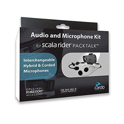 Cardo Scala Rider packtalk Audio Kit Mikrofon & Lautsprecher Kit srak0032