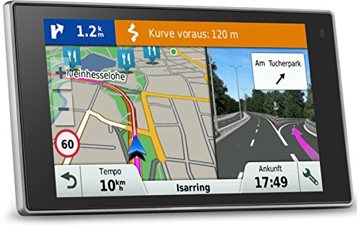 "5"" Touch-Glasdisplay, lebenslange Kartenupdates, Verkehrsfunklizenz, Premium Design – Garmin DriveLuxe 50 LMT EU PKW-Navi"