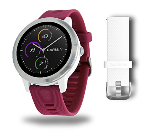 garmin v voactive 3 gps fitness smartwatch 24 7 herzfrequenzmessung am handgelenk. Black Bedroom Furniture Sets. Home Design Ideas