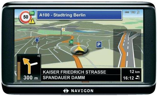 Navigon 72 Plus Europe 44 Limited Edition Navigationsgerät 12,7 cm 5 Zoll Display, ST-AGPS, 4GB Flash Speicher, Europa Kartenmaterial, TMC