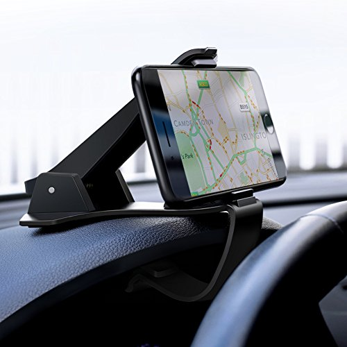 UGREEN Auto Handyhalterung Armaturenbrett Handy Autohalterung KFZ Handyhalter Auto Halterung Kratzschutz kompatibel mit iPhone X XS 8Plus 8, Samsung S10 S9 S8 Plus, Huawei P20 P10, Navi.
