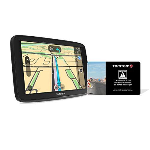 TomTom Start 62 6 Zoll – GPS Auto – Karten Europa 48 Karten mit Lebenszeit + Scratchcard 1 Jahr Update Gefahrenzonen