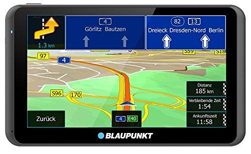 TravelPilot 63 EU LMU, Navigationssystem mit resistivem Touch-Farbdisplay 15,5 cm 6,2 Zoll, Kartenmaterial Gesamteuropa, lebenslange Karten-Updates*, TMC