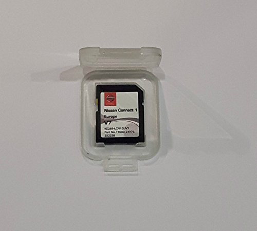 Nissan GPS Navi SD Card Connect 1 neue V7 2017 Micra Note Cube Qashqai