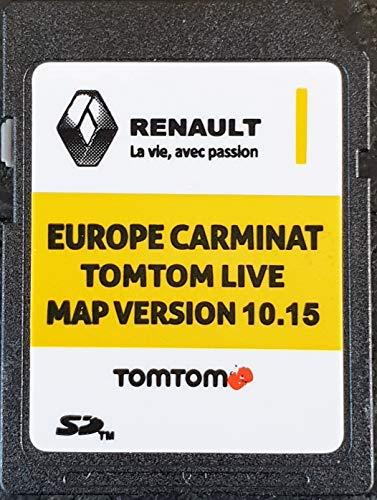 SD Karte GPS Europe 2019-10.15 – Renault Tomtom Live