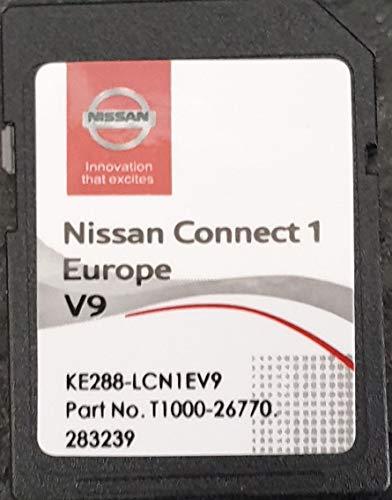 Nissan Connect 1 – SD Karte GPS Europe 2019 V9 – Database Q3.2017