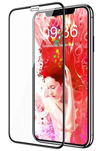 Bovon für iPhone 11 Pro Panzerglas, Schutzfolie für iPhone 11 Pro mit Einbaurahmen Blasenfrei 9H Härte Anti-Kratzer, Hülle-freundlich Panzerglasfolie für iPhone 11 Pro 2019-5,8 Zoll