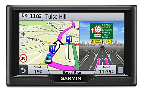 Garmin 010-01400-11 Nuvi 58LM 5 inch Satellite Navigation with UK, Ireland and Full Europe Free Lifetime Maps – Black Refurbished