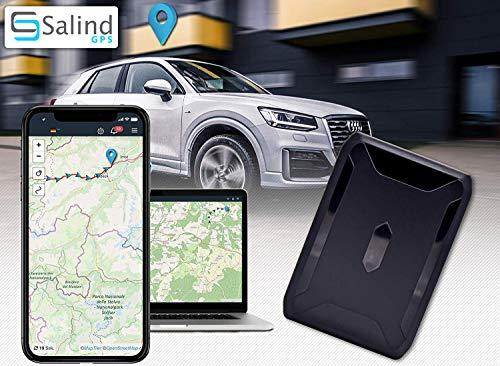 ABO VON 4,99 € / Monat ERFORDERLICH … – SALIND GPS-Tracker Auto, Motorrad, Fahrzeuge und LKW´s mit Magnet, etwa 40 Tage Akkulaufzeit bis zu 90 Tage im Standby Modus