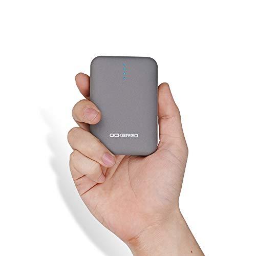 ockered Powerbank 10000mAh, Tragbarer Kleiner Externer Akku, Hochleistungs-Powerbank, 4,8 A Dual-USB Externer Batterie für iPhone, Samsung Galaxy, iPad, Huawei und weitere