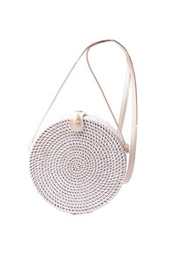 Top 10 Rattan Tasche Weiß – Damen-Umhängetaschen