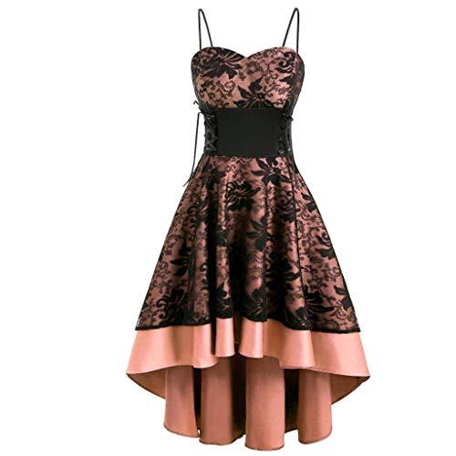 Top 10 Vintage ärmelloses Kleid – Damen-Shopper