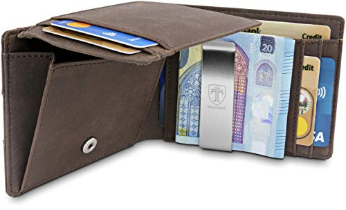 Top 10 Portemonnaie Leder RFID – Herren-Geldbörsen