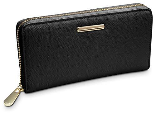 Top 9 Brieftasche Damen Schwarz – Damen-Geldbörsen