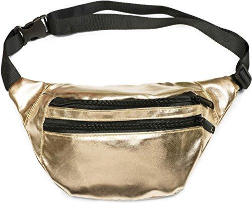 Top 10 Bauchtasche Gold Damen – Mode-Hüfttaschen