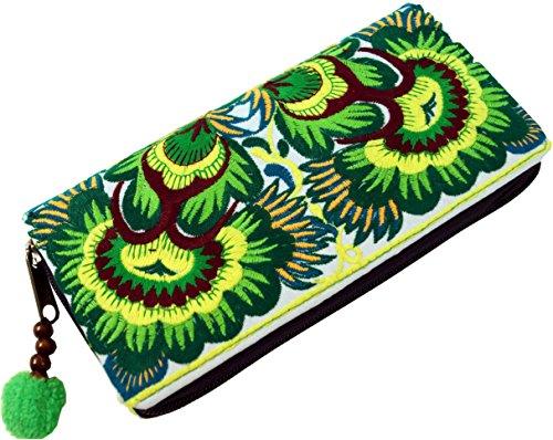 Top 10 Reißverschlusstasche Baumwolle – Damen-Geldbörsen